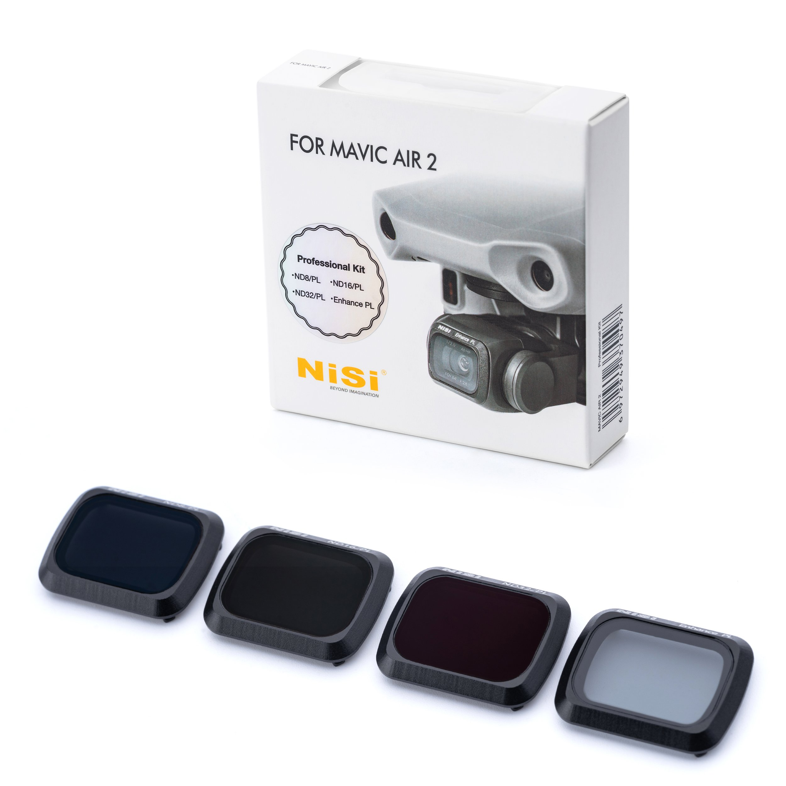 NiSi Drohnenfilter DJI Mavic Air 2 Professional Kit